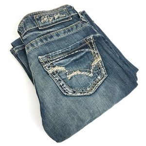 Big Star Low Rise Remy Long Jeans O0293
